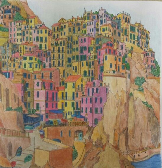 Manarola Italy From FANTASTIC CITIES