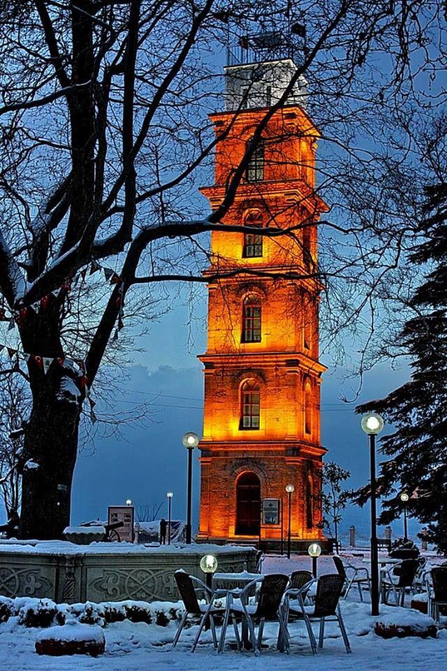 Saat kulesi, Tophane  - Bursa / Turkey
