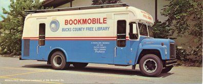 1960s bookmobile, Bucks  County (Pa.) Free Library.