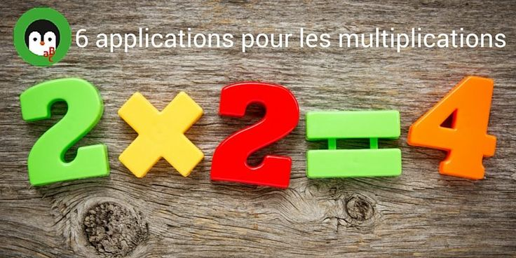 1000 id es sur le th me tables de multiplication sur - Application pour apprendre les tables de multiplication ...