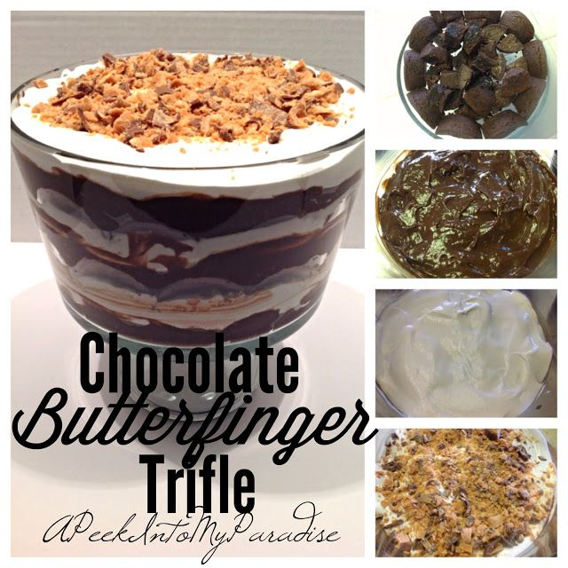 17 best images about recipes on pinterest freezers for Quick and easy trifle dessert recipes