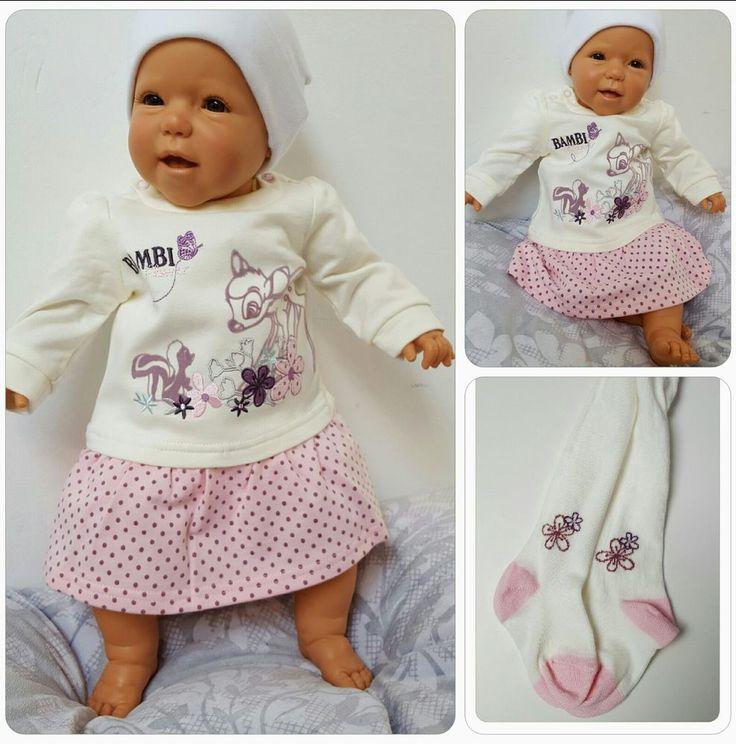 DISNEY Baby Langarm- Kleid Bambi Strumpfhose Geschenk Mädchen NB 56 62 68 74 80   Baby, Kleidung, Schuhe & Accessoires, Mädchen   eBay!