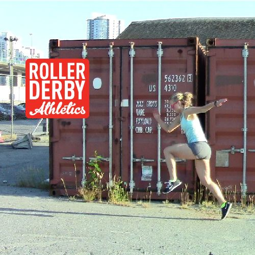 Plyo workouts are the key to building fast-twitch muscles needed for quick accelerations and powerful hits in Roller Derby.