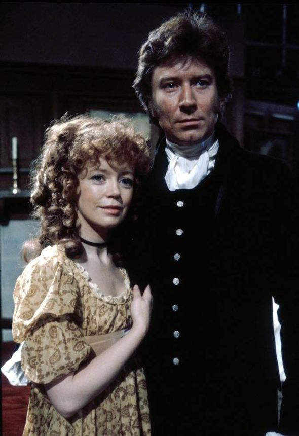 Robin Ellis and Angharad Rees in the 1970s