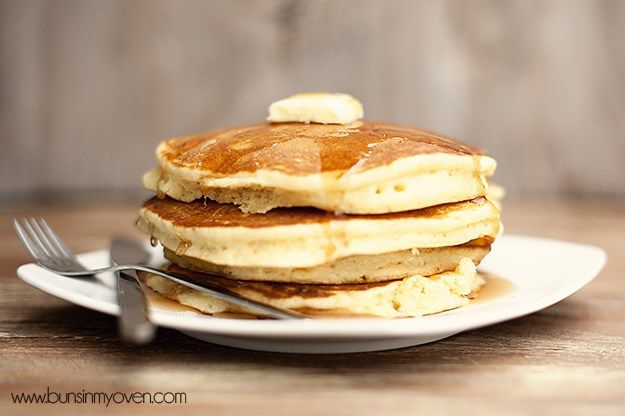 Buns In My Oven Classic Buttermilk Pancake Recipe — Buns In My Oven