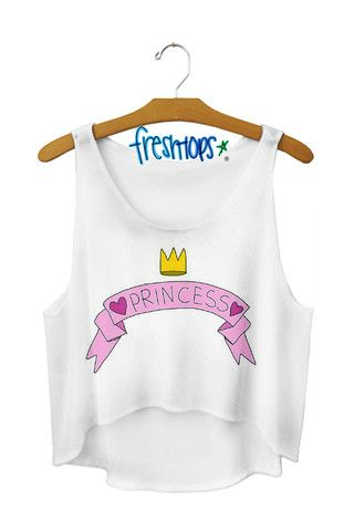 Princess crop Top- Freshtops!
