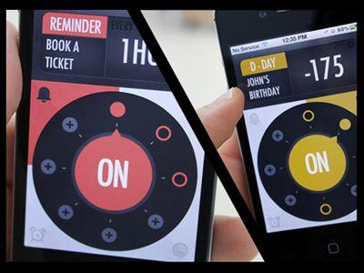 Timer, Alarm, D-Day, and Reminder App (Light and Dark UI)