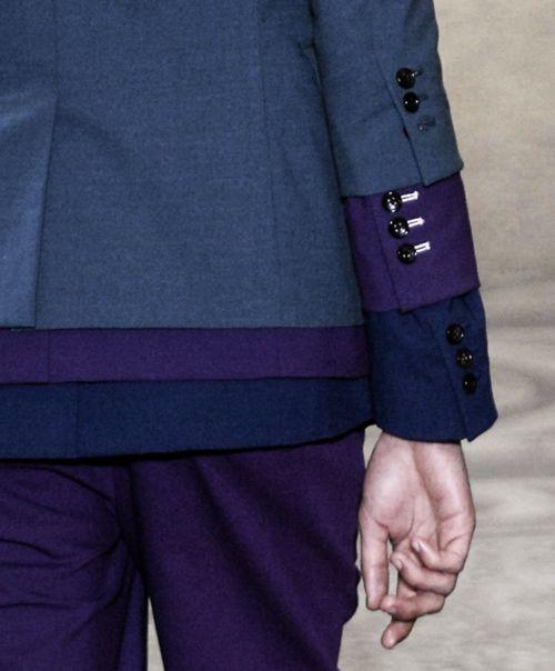 layers: Idea, Inspiration 4Th, Color, Blue, Layered Details, Comm De, Layered Colour, Garçon Triple, The Boy