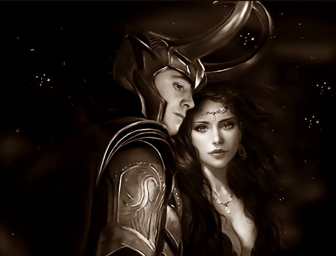 284 best images about Loki and Sigyn on Pinterest