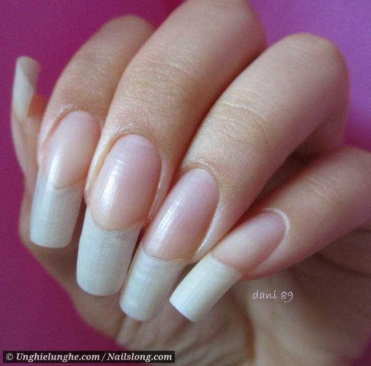 dani 89 - Nailslong.com | Nails! - Translucent / Clear ...