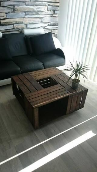 best 10+ wooden crate coffee table ideas on pinterest | crate