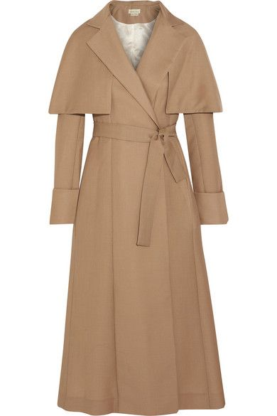 Merchant Archivemohair and wool-blend coat