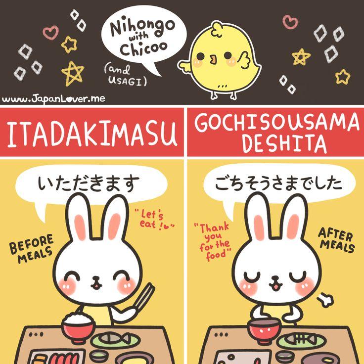 Expresiones a la mesa. #日本語