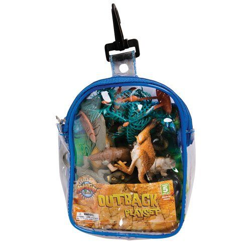 Australian Outback Animal Playset In Clip Bag 12 Piece