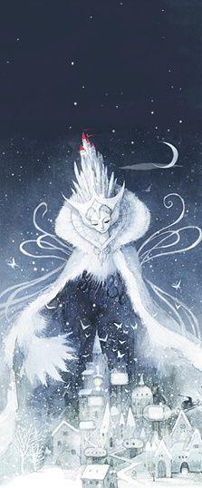 冰雪皇后和她的冰雪城堡。Kim minji作品。【阿团丸子】