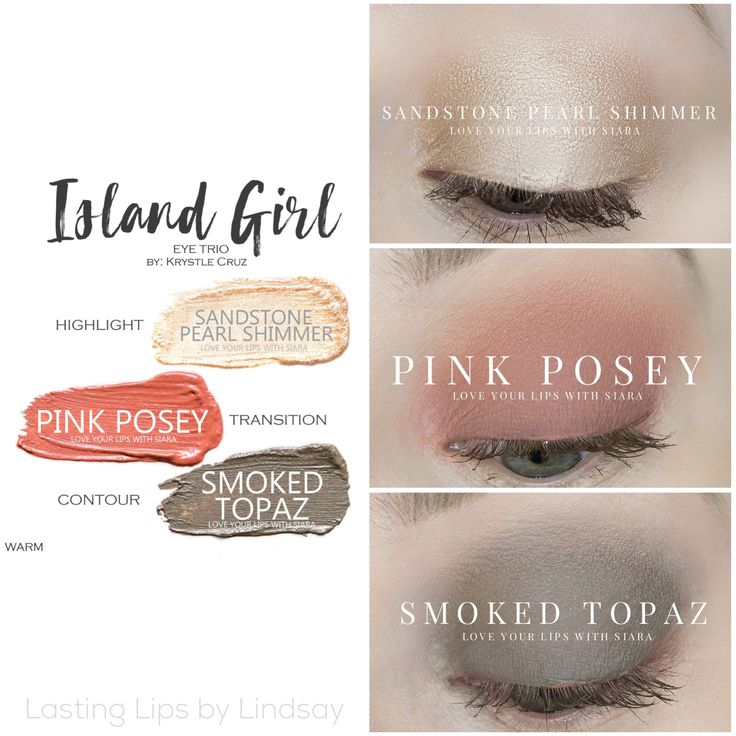 Eyeshadow trio using SeneGence ShadowSense colors in Sandstone Pearl Shimmer, Pink Posey, and Smoked Topaz. Smudge proof, waterproof, crease-proof, long-lasting eyeshadow. Cream to powder eyeshadow. Cruelty free makeup | Makeup look | Makeup how to | Makeup tutorial | long-lasting makeup | LipSense | LipSense distributor | www.lastinglipsbylindsay.com | Insta @ lastinglips_by_lindsay | Bella | Blackberry | Violet Volt | Candlelight | Mulberry | Onyx | beauty | step-by-step eyeshadow look