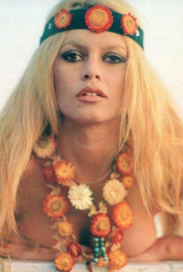 Brigitte Bardot hippie Style