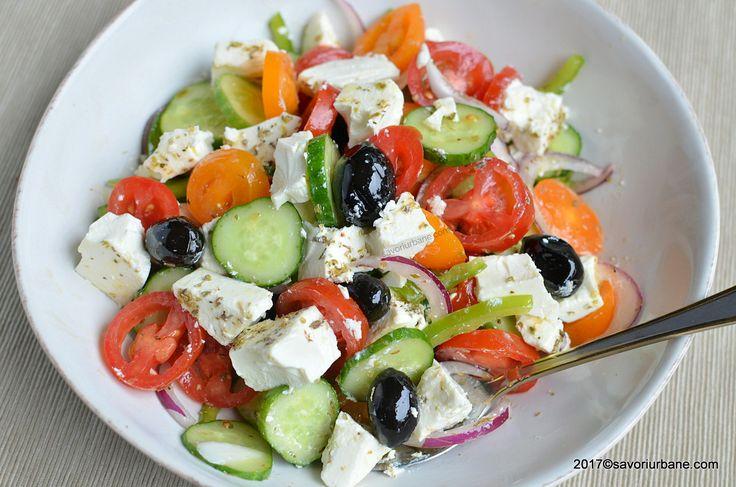 cum se pune branza feta la salata greceasca bucatele sau intreaga