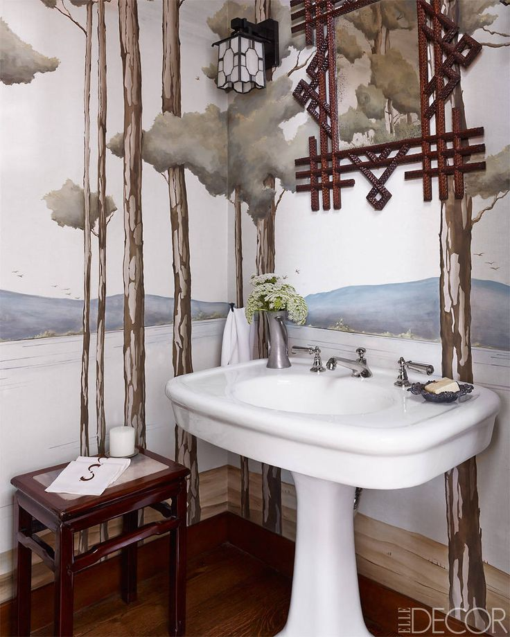 Gallery One  Whimsical Wallpaper Ideas For Your Bathroom