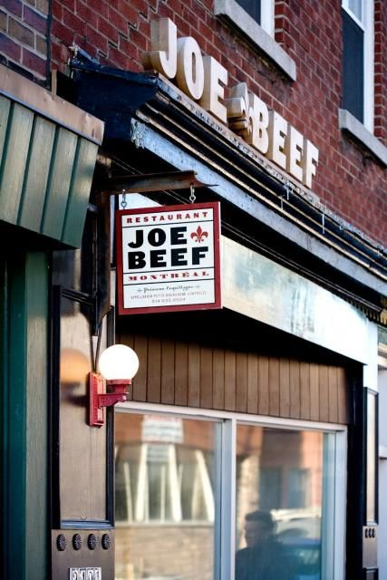 Cuizine / Joe Beef