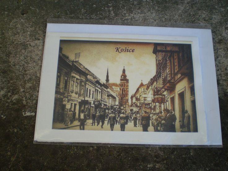 Pohľadnica starých Košíc