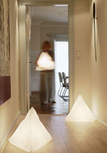 B2 Triangle Lamp by Birgit Ostergaard