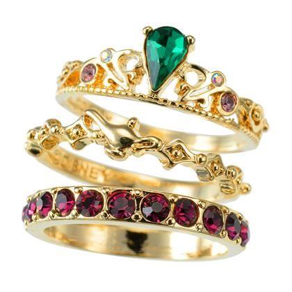tokyo disney store disney princess ring and the