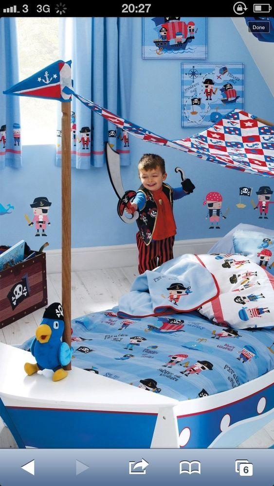 16 best Pirate bdrm ideas images on Pinterest Bedroom ideas