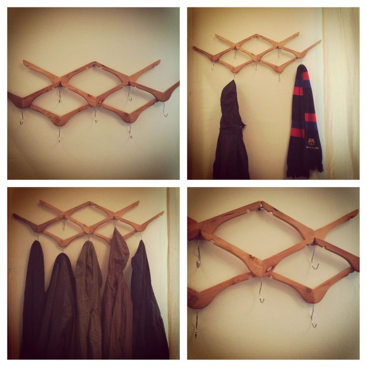 Penjador Perchero Clothes rack #DIY #handmade