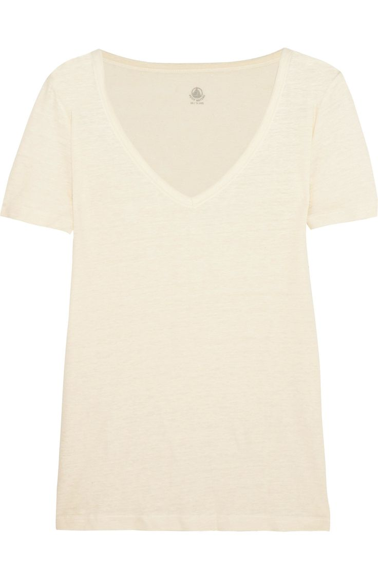 Shop on-sale Petit Bateau Linen-jersey T-shirt. Browse other discount designer Tops & more on The Most Fashionable Fashion Outlet, THE OUTNET.COM