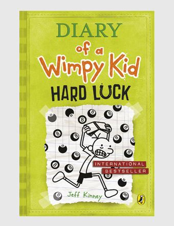 Diary of a Wimpy Kid Hard Luck (Hardcover) Jeff Kinney