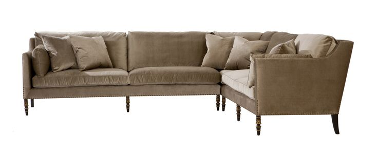 Buy Leopold Sofa Sectional by Ebanista - Made-to-Order designer Furniture from Dering Hall's collection of Traditional Transitional Sofas & Sectionals.