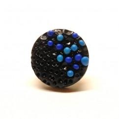 Mavi Yüzük - #tasarim #tarz #mavi #rengi #moda #hediye #ozel #nishmoda #blue #colored #design #designer #fashion #trend #gift