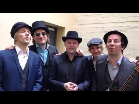 Say hello Violet Road!'Liten hilsen fra bandet før plateslipp. Herlig gjeng :)