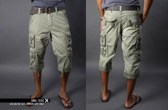 Men'S Capri Shorts - The Else