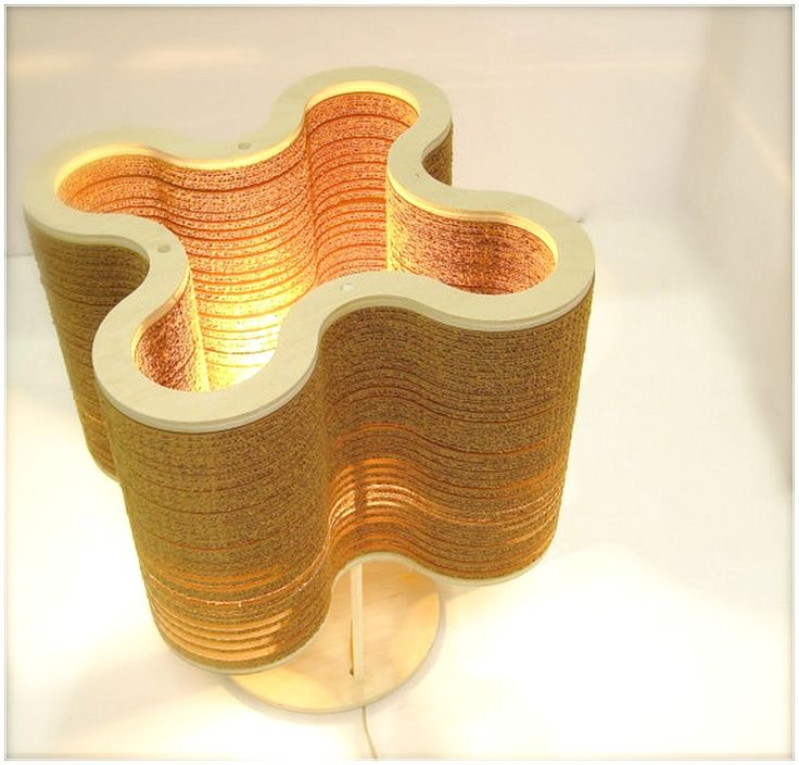 CELEBRATE EARTH WITH ECO FRIENDLY DÉCOR WITH A WOODEN LAMP DESIGN UNIQUE CIRCUITRY