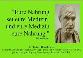 Bildergebnis für hippokrates zitate