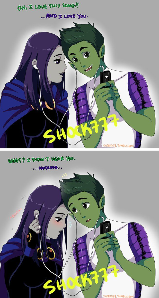 beastboy and raven secret relationship of birthdays