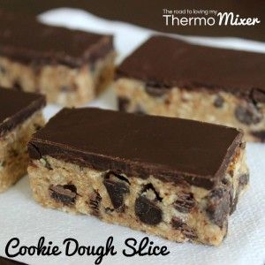 Cookie Dough Slice | The Road to Loving My Thermo Mixer