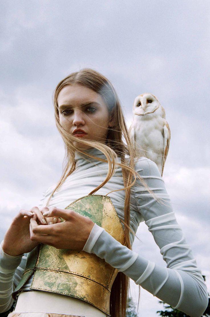 """Molly Bair in """"Sleepwalker"""" by Michal Pudelka - Vogue Japan October 2016 - Styling Sara Jane Hoare"""