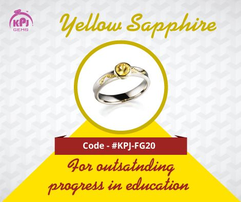 This gem of Jupiter or Guru, gives one material wealth and prosperity. It can be worn for the accumulation of comforts and wealth too. Code - ‪#‎KPJ‬-FG20 For More Details Visit - http://goo.gl/tHcf5f ‪#‎YellowSapphire‬ ‪#‎FancyGems‬ #GemStones