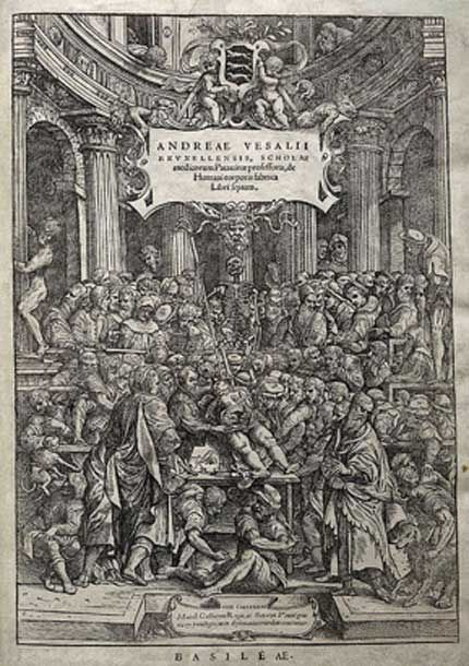Andreas Vesalius of Brussels, professor at the school of medicine at Padua, on the fabric of the Human body in seven Books.