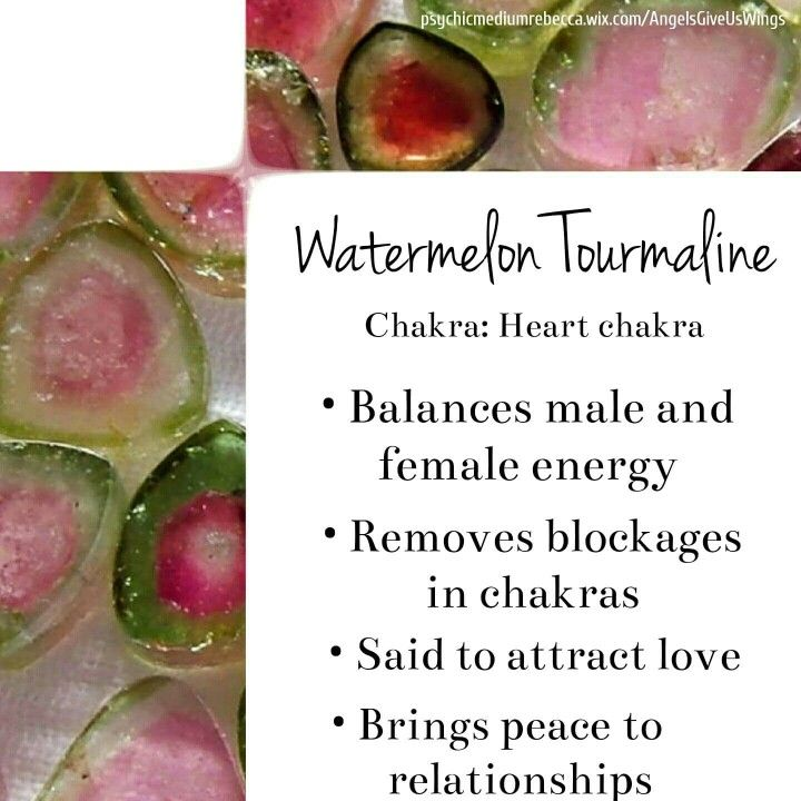 Watermelon Tourmaline balances are our energy