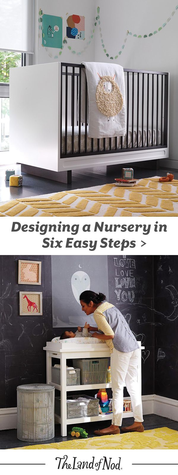 Here's your go-to guide to what you need to know when putting together your new baby's happy place. Because, the most important thing you can do in creating this space is to design a nursery that makes you smile, relax and enjoy. After all, you're going to be spending A LOT of time in the room.