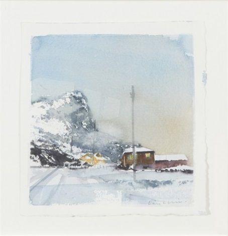 Mot byer fraa nord by Lars Lerin