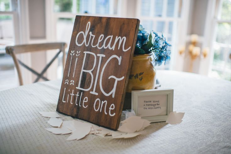 Gender Neutral Baby Shower Ideas - love this boho inspired shower with fun dip-dyed onesie decor. Must-see!