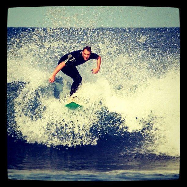 Surfing at Torquay, Australia