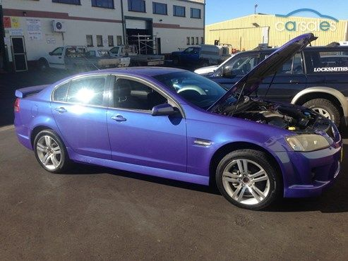 2007 Holden Commodore VE SV6 Sports Automatic