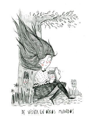 Los beneficios de la lectura : fuente de sueños...