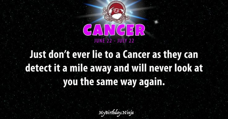 Accurate CANCER daily horoscope. LOVE, romance, money, finance, work, career, shareable personality trait